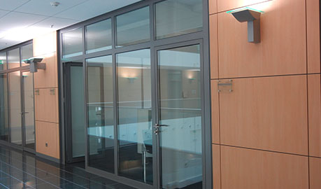 Security partition walls