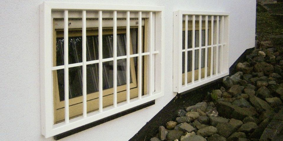 Grilles series OXIR, private residence.