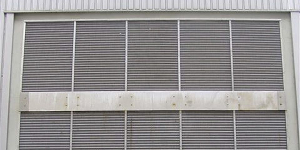 High security louver.